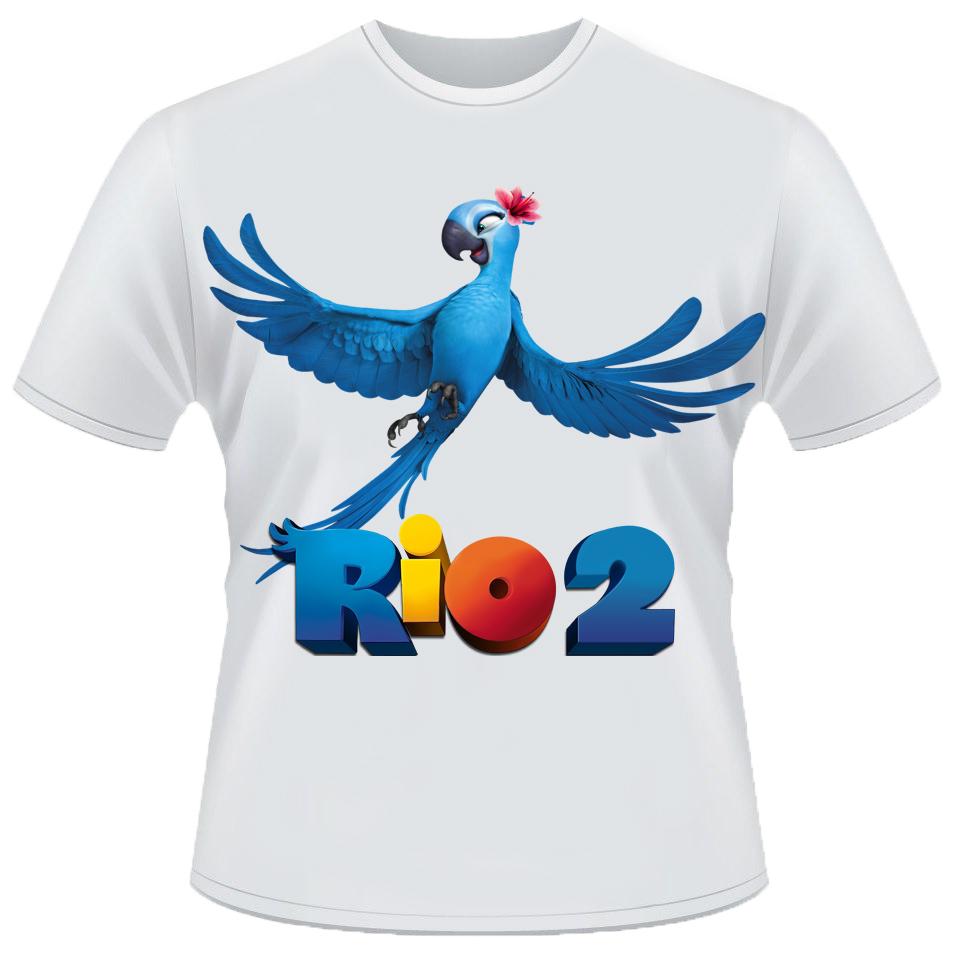 Camisetas de desenhos animados